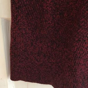 Maje long knit stretchy wool skirt in size 1